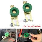 2x Autos Battery Link Terminal Quick Cut-off Disconnect Master Kill Shut Switch