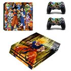 new dragon ball PS4 Pro Skin Sticker Sony Playtation 4 Pro console + Controllers
