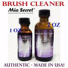 Mia Secret Brush Cleaner 1 oz OR 2 oz MADE IN USA Authentic Ship Fast