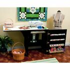 Arrow 503 - Sewnatra Sewing Cabinet - Black, Wood
