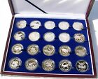 World Wildlife Fund 20 Silver Proof Coin Collection for 25th Anniversary