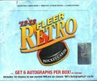 2012-13 Fleer Retro Factory Sealed Hockey Hobby Box 6 AUTOGRAPHS per Box !!!!