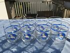 Vintage Tienshan Fantasy Unicorn 10 0z. Drinking Glasses Tumblers Set If 8