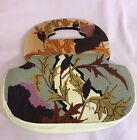VINTAGE PURSE NEEDLEPOINT MOONBAGS PATRICIA SMITH DESIGNS