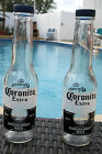 CORONA SALT AND PEPPER SHAKERS 1 pair of 7oz Coronita Extra bottles with caps