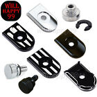 Aluminum Screw Seat Bolt Mount Knob cover Fit for Harley Davidson Touring