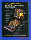 Bally Motordome pinball sound rom chip