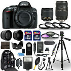 Nikon D5300 Digital Camera + 18 55mm + 70 300mm + 30 Piece Accessory Bundle