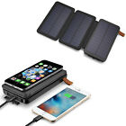 900000mAh Solar Panel Qi Wireless External Battery Charger Portable Power Bank