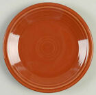 Fiestaware Medium Salad Plate #464 Paprika Retired Color
