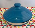 Fiestaware Peacock MEDIUM Canister Lid Fiesta Retired Blue Replacement LID ONLY