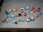 Lot of 19 Vintage Smurfs Figures 60's / 70's / 80's Schleich - Peyo- Bully-