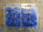 DCI Geo Swirl Blue Clips Two Boxes Paper Clips 200 Office School