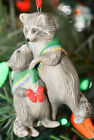 Hallmark: Safe and Snug - 2003 - Racoons - Keepsake Ornament