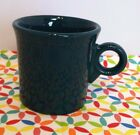Fiestaware Retired Evergreen Ring Handled Mug Fiesta Dark GreenTom