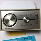 New White-Rodgers Automatic Comfort Set Thermostat 1F72-20 Vintage
