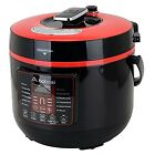 Programmable Digital Pressure Cooker 6Qt/1000W Stainless Steel Cooking Pot