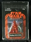Star Wars Darth Vader AFA 85 NM+ Red 2005 Holiday Edition Exclusive