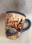 Certified International Seafood Market Crab Large Mug Geoffrey Allen New RARE