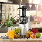 Slow Juicer Machine Masticating Fruit Vegetable Extractor Maker Blender Squeezer