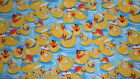 SNUGGLE FLANNEL GIRLIE RUBBER DUCKS 1 YARD BTY