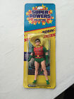 1984  ROBIN  ACTION FIGURE KENNER DC SUPER POWERS NEW SEALED  OLD STOCK