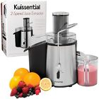 Electric Juice Extractor Two Speed 700 watt Drinking Fresh Fruits Vegetables Bar