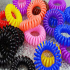 12pcs Useful Girl Elastic Rubber Hair Ties Band Rope Ponytail Holder Scrunchie