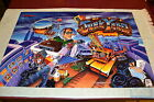 JUNKYARD By WILLIAMS 1996 ORIGINAL PINBALL MACHINE TRANSLITE BACKGLASS ART