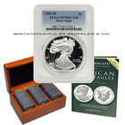 Set of 31 American Silver Eagles 1986 to 2016 PCGS PR70DCAM Complete Date Proofs
