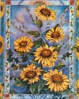 Country Sunflower Floral Flower Wall Decor Art Print Poster 16x20