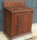 Antique Primitive 19th c. Wainscoted Pie Jelly Kitchen Cabinet Cupboard