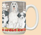 Bearded Collie Ceramic Coffee Mug Tea Cup 15 oz