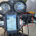 12V Waterproof GPS Phone Power USB Charger Port Outlet Socket Kit For Motorcycle