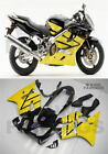 New Yellow Black Injection Mold Fairing Fit for Honda 2004 2007 CBR 600 F4i h13