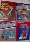 Abeka Book Grade K5 Phonics Reading  Numbers Curriculum Bible Activity  More