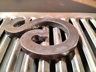 Steel Letters Numbers  Symbols Many Fonts 3 x 1 4 by Caveman Metal