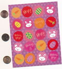 assorted Easter stickers colorful fun