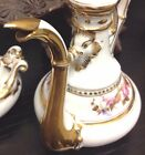 FREE SHIPPING - Rare Early 19th C. Old Vieux Paris Porcelain Egoiste Tea Set