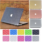 2in1 Leather Coated Glitter Shiny Case for MacBook Air 11
