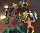 Vintage Toy Box Lot 1980s Thundercats He Man Battle Cat Hulk Hogan Tmnt Toxic