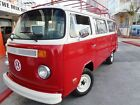 1977 Volkswagen Bus Vanagon DELUXE 1977 VW DELUXE BUS RESTORED CALIFORNIA BEACH CRUISER