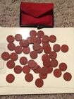 WW2 OPA RATION TOKENS RED POINT 45