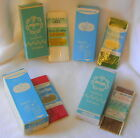 VINTAGE  STRETCH LACE /IRON ON SEAM BINDING IN VINTAGE BOXES