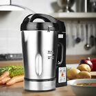 800W Stainless Steel Electric Soup Maker Machine Blender Smoothie Ice Crusher US