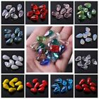 New 10X16mm Glass Crystal Teardrop Faceted Loose Spacer beads Jewelry Findings
