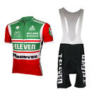 7 ELEVEN Cycling Jersey or Pants Retro Road Pro Clothing MTB Short Sleeve Set