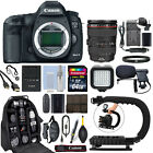 Canon EOS 5D Mark III SLR Camera with 24 105mm f 4L USM Lens+ 64GB Pro Video Kit