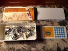 Vintage Sears Kenmore Sewing Accessory Set no 2068401 Holder Edger Stitcher Foot