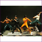 Set of 4 Bruce Lee Kung Fu Collection 4 Flexible Action Figure Toy XMAS GIFT